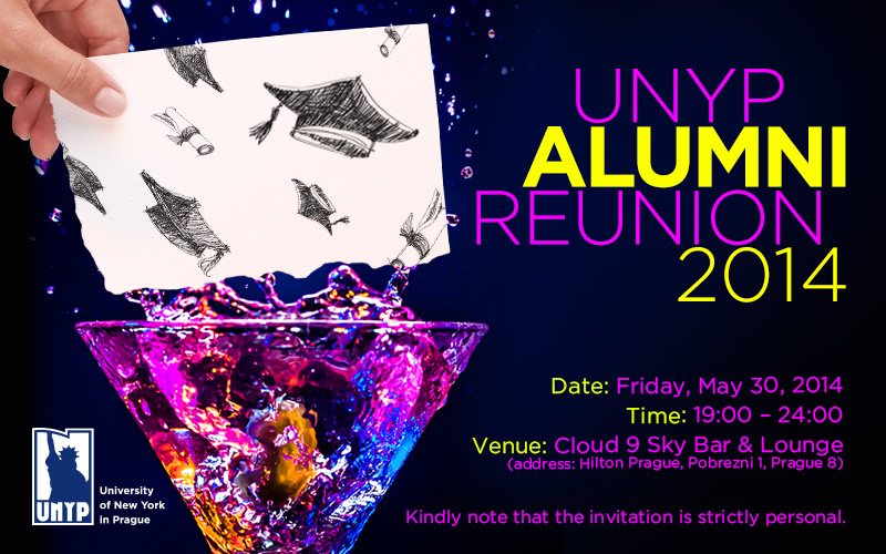 Invitation To Unyp Alumni Reunion To Be Held On May 30 2014