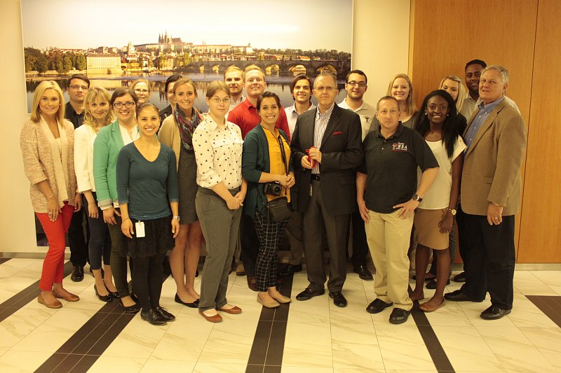 Texas Tech returns to UNYP and visited the ExxonMobil